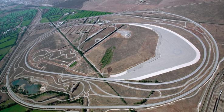Испытательный полигон BMW в Мирамасе, Франция.